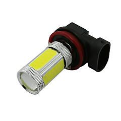2 stk 6000K høy effekt H11 cob ledet tåke kjører frontlys lys lampe pære hvit 12-24V