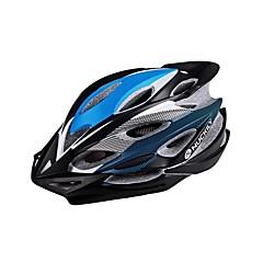 スポーツ 男女兼用 N/A バイク ヘルメット 22 通気孔 サイクリング サイクリング マウンテンサイクリング ロードバイク レクリエーションサイクリング ワンサイズ L:58-61CM PC EPS レッド グレー ブラック ブルー