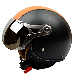 GXT의 g-288 오토바이 헬멧 공군 복고풍 헬멧 토끼 헬멧 안티 - 안개 통기성 반 헬멧