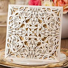 Șal & Buzunar Invitatii de nunta-Invitații Stil Clasic Hârtie Reliefată