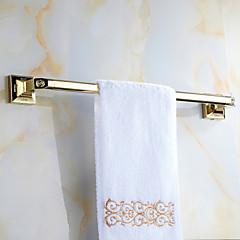 cheap -Towel Bar Antique Brass 1 pc - Hotel bath 1-Towel Bar