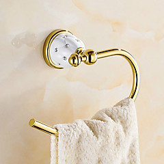 cheap -Toilet Paper Holder Contemporary Brass 1 pc - Hotel bath towel ring