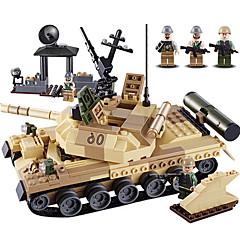 billiga Leksaker och spel-GUDI Byggklossar 372 pcs Stridsvagn professionell nivå Häftig Pojkar Flickor Leksaker Present