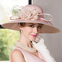 cheap Party Headpieces-Silk Velvet Hats Headpiece