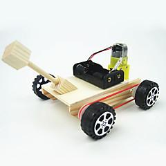 장난감 자동차 과학&디스커버리 완구 장난감 원형 탱크 전차 DIY 1 조각