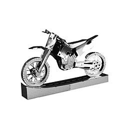 3D-puzzels Legpuzzel Metalen puzzels Speelgoedauto's Motorfietsen Speeltjes Motorfietsen Beroemd gebouw Architectuur 3D Noviteit DHZ