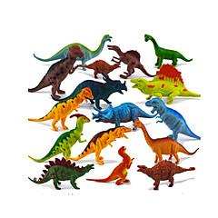 Χαμηλού Κόστους Στοιχεία δεινοσαύρων-Δράκοι και δεινόσαυροι Στοιχεία δεινοσαύρων Jurassic Δεινόσαυρος Triceratops Τυρανόσαυρος Ρεξ Πλαστική ύλη Αγορίστικα Παιδικά Δώρο