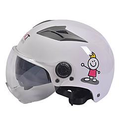 tanie Kaski i maski-GXT M11 Kask motocyklowy pół podwójnego obiektywu harley hełm lato unisex krem nadaje się do 55-61cm z krótkim obiektywem przejrzysty