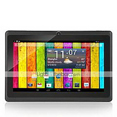 M750D3 7 tommer Android Tablet (Android 4.4 1024*600 Quad Core 512MB RAM 8GB ROM)
