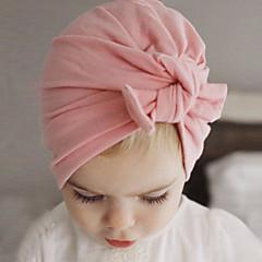 tanie Akcesoria dla dzieci-Brzdąc Dla chłopców / Dla dziewczynek Bawełna Kapelusze i czapki Rumiany róż / Szary / Fioletowy Jeden rozmiar / Gumka do włosów