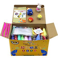 KEAIHAO Lindert Stress Sets zum Selbermachen Bildungsspielsachen Knete Spiel Teig, Plasticine & Putty Spielzeuge Papier lieblich Stücke