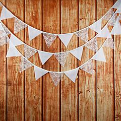 Bomuld Bryllup Dekorationer-12 stk / sæt Ikke-personliggjort