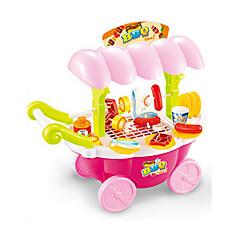 Tue so als ob du spielst Spielzeug-Küchen-Sets Kinderkochgeräte Spielzeuge Simulation Unisex Stücke