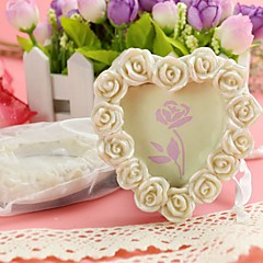 cheap Frames & Albums-Resin Photo Frame Place Card Holder 8.5*8.5*1.8cm Beter Gifts® Wedding Decoration