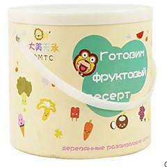 billiga Leksakskök och -mat-Toy köksutrustning Leksaks svDishes & Tea set Låtsaslek Grönsaker Frukt Magnet GDS (Gör det själv) Simulering Plast Barn Pojkar Flickor Leksaker Present