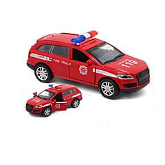 olcso -Játékautók Modell autó Rendőrautó Játékok Hangok tettetés Autó Fém ötvözet 1 Darabok Gyermek Fiú Ajándék