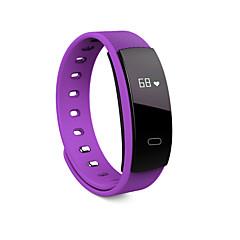 tanie Inteligentne zegarki-QS 80 Inteligentne Bransoletka Android iOS Bluetooth Sport Wodoodporny Pulsometry Pomiar ciśnienia krwi Ekran dotykowy Powiadamianie o połączeniu telefonicznym Rejestrator aktywności fizycznej