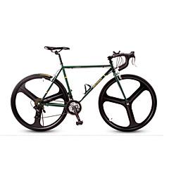 billige Sykler-Cruiser sykler Sykling 21 Trinn 26 tommer (ca. 66cm) / 700CC Shimano V-bremse Ikke dempende Ikke dempende Vanlig / Anti-Skli Stål