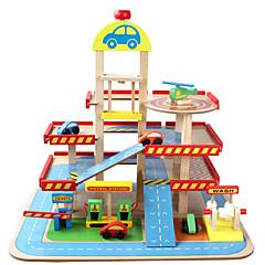 משחקי דמויות צעצוע חינוכי ערכות צעצועי חניון מכוניות צעצוע צעצועים צעצועים טירה 1 חתיכות לילדים מתנות