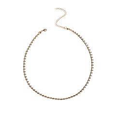 Dame Kroppsmykker Fotlenke Mote Strass Geometrisk Form Gull Sølv Smykker Til Spesiell Leilighet Avslappet 1 stk