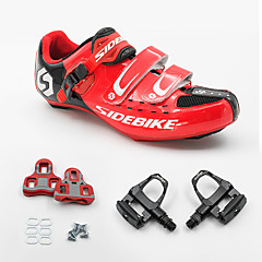 BOODUN/SIDEBIKE® Sneakers Road Bike Shoes Cycling Shoes Unisex Cushioning Outdoor Road Bike PU Breathable Mesh Cycling