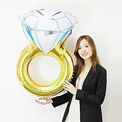 ボール 風船 おもちゃ アルミニウム 1 小品 誕生日 バレンタイン・デー マスカレード ギフト