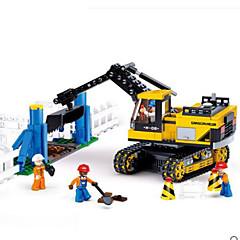billiga Leksaker och spel-Sluban Byggklossar Fyrkantig Pojkar Unisex Leksaker Present