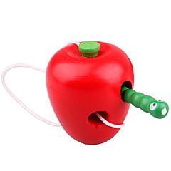 Stavební bloky Vzdělávací hračka Hračky Apple Pieces Dětské Dárek