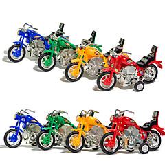 Terugtrekauto/Inertie-auto Opwindspeelgoed Speelgoedauto's Motorfietsen Speeltjes Motorfietsen Stuks Kinderen Unisex Geschenk