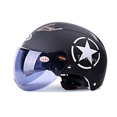 tanie Kaski i maski-YEMA Braincap Doroślu Unisex Kask motocyklowy Odporność na promienie UV / Oddychający