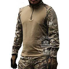 Tricou de Vânătoare Impermeabil Rezistent la Vânt Respirabil Tactic Bărbați Manșon Lung Clasic Topuri pentru Vânătoare Sporturi de