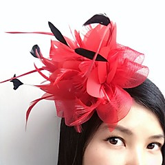 Veer Net Fascinators Bloemen Haarclip Helm