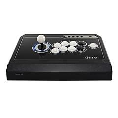 Χαμηλού Κόστους Nejprodávanější-QANBA Q4-3in1 BLACK/WHITE USB Joystick Για Xbox 360 / PC ,  Joystick Μεταλλικό / ABS μονάδα