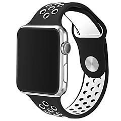 tanie Inteligentne zegarki-brytyjski pasek ze skóry w stylu wiejskim z kwiatowym nadrukiem na bransoletkę z kwiatkiem w paski dla bransoletki 38mm 42mm