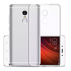 Pentru Ultra subțire Transparent Maska Carcasă Spate Maska Culoare solida Moale TPU pentru Xiaomi Xiaomi Redmi Note 4X