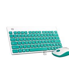 billiga mus tangentbord combo-K1500 ultra bärbar tyst botton office trådlös tangentbord och mus combo