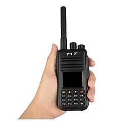 billige Walkie-talkies-TYT MD-380 Walkie-talkie Håndholdt Strømsparefunksjon Lader og adapter Kryptering CTCSS/CDCSS Gruppesamtale LCD Skan 1000 2000.0 Walkie