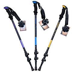 cheap Trekking Poles-3 Nordic Walking Poles 135cm (53 Inches) Damping Foldable Adjustable Fit Light Weight Aluminum Alloy 7075 Camping / Hiking Snowsports