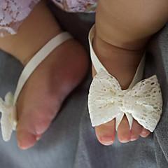 billige Babytøj-Unisex Benvarmere Alle årstider - Nylon - Pandebånd - Hvid Rød Lyserød Lilla Rosa