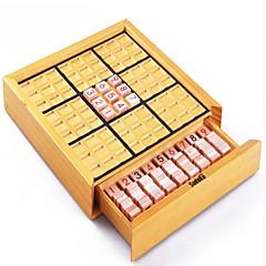 billige Labyrint & Sekvenspuslespil-Brætspil Skakspil Sudokupuslespil Træ Stk. Unisex Voksne Gave