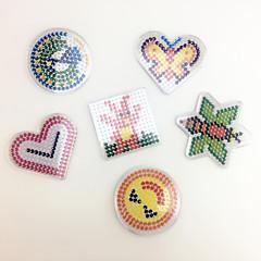 Sets zum Selbermachen Bildungsspielsachen Holzpuzzle Kunst & Malspielzeug Spielzeuge Quadratisch Kreisförmig Herzförmig EVA Stücke keine