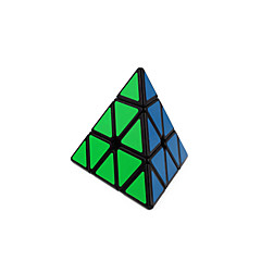 Rubiks kube Glatt Hastighetskube Pyraminx Glatt klistremerke justerbar våren Magiske kuber Trekant Gave