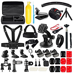 cheap Accessories For GoPro-Accessory Kit For Gopro 50 in 1 Multi-function Foldable Adjustable Floating Convenient For Action Camera Gopro 6 Gopro 5 Xiaomi Camera