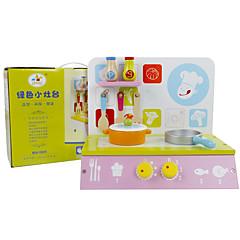 Tue so als ob du spielst Spielzeug-Küchen-Sets Spielzeuge Quadratisch Kinder 1 Stücke