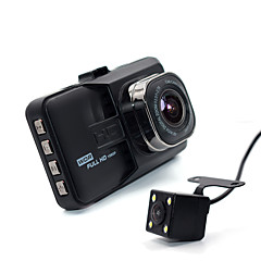 Generalplus (Taiwan) Full HD 1920 x 1080 Auto DVR 3 Scherm 1 Dashboardcamera