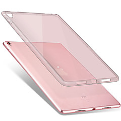 Uyumluluk Kılıflar Kapaklar Şeffaf Arka Kılıf Pouzdro Tek Renk Yumuşak TPU için Apple iPad Pro 9.7 ''