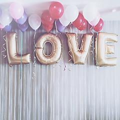 32 hüvelyk l-o-v-e arany léggömbök beter gifts® party dekoráció