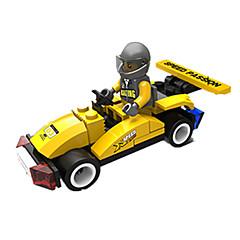 billiga Leksaker och spel-JIE STAR Leksaksbilar / Byggklossar 35 pcs Racerbil Kreativ / GDS (Gör det själv) Racerbil Unisex Present