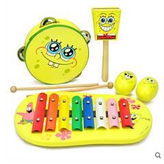 tanie Instrumenty dla dzieci-Cymbałki Prostokątny Kwadrat Zabawa Oyuncak Müzik Aleti Dla obu płci Zabawki Prezent