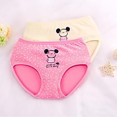 billige Undertøj og sokker til piger-Børn Pige Tegneserie Trykt mønster Bomuld Undertøj og strømper